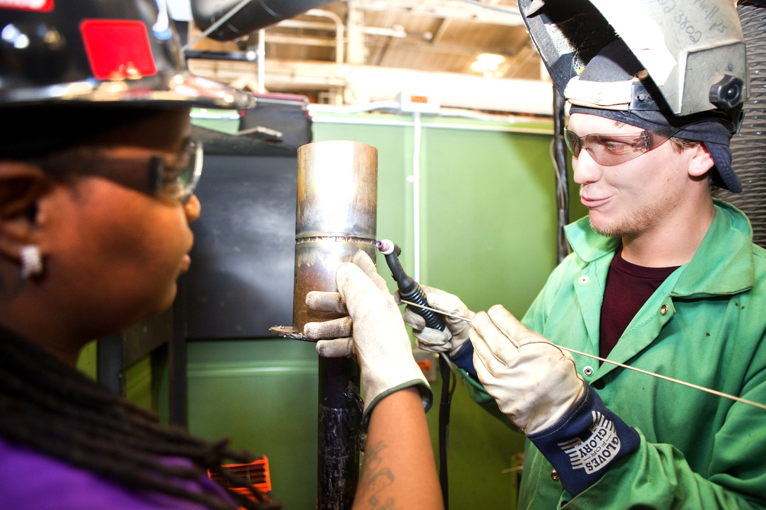 Ashley Mentoring Welder Front